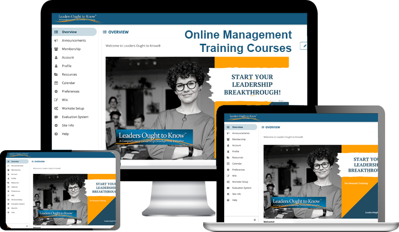 online management training