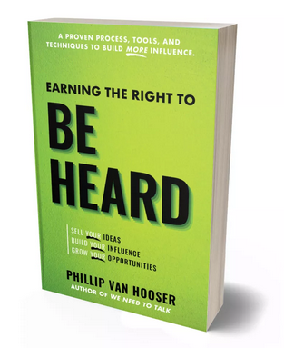 Earning The Right To Be Heard Book & Process (Kindle, Paperback) image