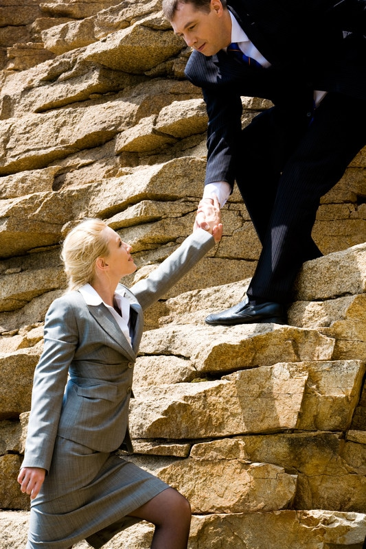 Two Ways Leaders Get to the Top image